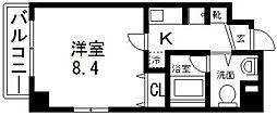 プレシオ小阪[301号室号室]の間取り