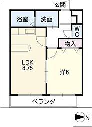 SHOEI MANSION佐古前[1階]の間取り