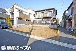 世田谷区八幡山2丁目の土地。使いやすい整形地の敷地です。