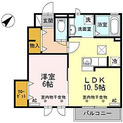 K-stage[1階]の間取り