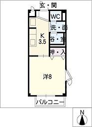 SURPLUS I FULLHOUSE[2階]の間取り