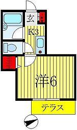 イースタンホーム[2階]の間取り
