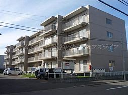 北海道札幌市東区北三十五条東8丁目の賃貸マンションの外観