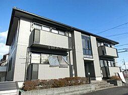 滋賀県大津市雄琴北1丁目の賃貸アパートの外観