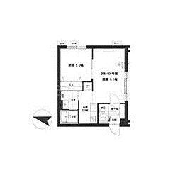 北海道札幌市中央区北六条西10丁目の賃貸マンションの間取り
