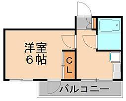ウエルネス福岡2[4階]の間取り