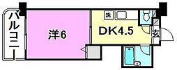 KBコート本町2[202 号室号室]の間取り