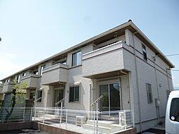 東京都武蔵村山市神明4丁目の賃貸アパートの外観