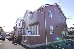 茨城県日立市東金沢町1丁目の賃貸アパートの外観