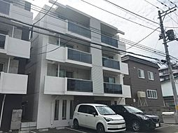 北海道札幌市西区西町北18丁目の賃貸マンションの外観