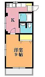 第二ふじみハイツB棟[2階]の間取り