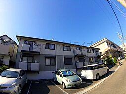 兵庫県宝塚市口谷東3丁目の賃貸アパートの外観