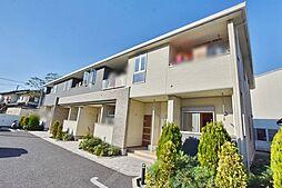 神奈川県海老名市中野の賃貸アパートの外観