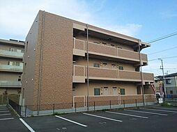 神奈川県平塚市真田の賃貸マンションの外観