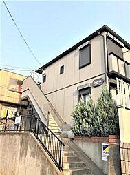 埼玉県川口市大字新井宿の賃貸アパートの外観