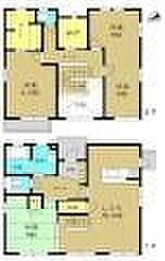[一戸建] 福岡県大野城市つつじケ丘3丁目 の賃貸【/】の間取り