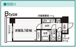 Nasic仙台東口[207号室号室]の間取り