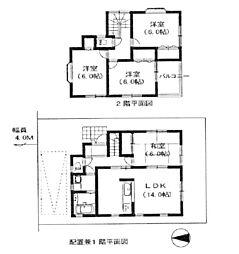 [一戸建] 埼玉県草加市青柳6丁目 の賃貸【/】の間取り