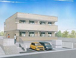 有井アパート[2階]の外観