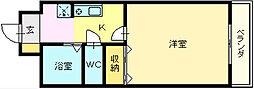HIYORIー2[4階]の間取り