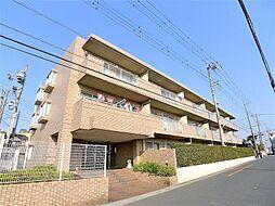 埼玉県越谷市大字大里の賃貸マンションの外観
