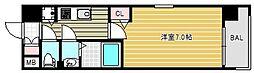 セイワパレス玉造上町台[2階]の間取り