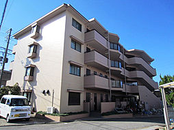 大阪府貝塚市窪田の賃貸マンションの外観