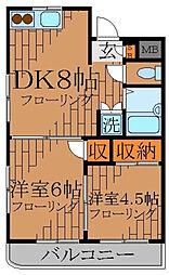 FAST高円寺[4階]の間取り