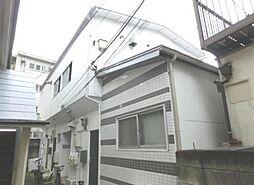 東京都目黒区中目黒4丁目の賃貸アパートの外観
