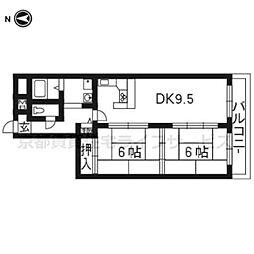 コスモワンダータウン724号室[7階]の間取り