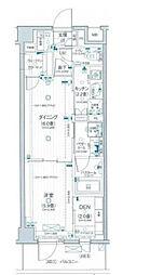 デュオステージ横濱赤門通り[3階]の間取り