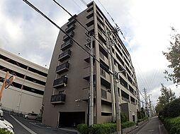 大阪府豊中市上津島3丁目の賃貸マンションの外観