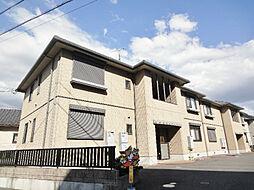 滋賀県守山市岡町の賃貸アパートの外観