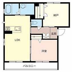 シャーメゾンさくら[2階]の間取り