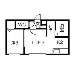 ベル・ファーム[2階]の間取り