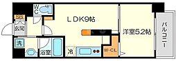 (仮称)ニコニコタクシー株式会社様プロジェクト 1階1LDKの間取り