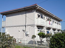 広島県東広島市黒瀬町川角の賃貸アパートの外観