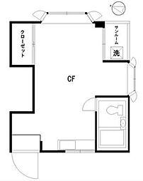 クイーンホームズ[1階]の間取り