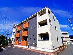 東京都東久留米市下里3丁目の賃貸アパートの外観