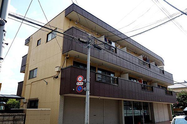 東京都立川市錦町6丁目の賃貸マンションの外観