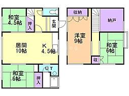 台場2−6戸建て 2階4LDKの間取り