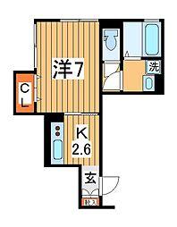 仮)D-roomTV柏[202号室]の間取り