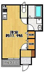 山口町名来 新築アパート[101号室]の間取り