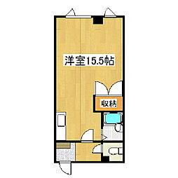 岡崎第三ビル[310号室]の間取り