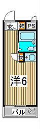 プレステージ浦和[2階]の間取り