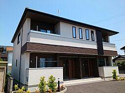 長野県長野市里島の賃貸アパートの外観