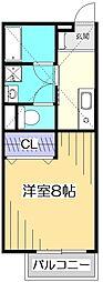 エスペーロカーサ[2階]の間取り