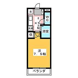 Be-House[2階]の間取り