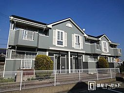 愛知県豊田市東新町2丁目の賃貸アパートの外観