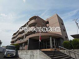 神奈川県厚木市温水の賃貸マンションの外観
